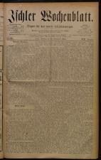 Ischler Wochenblatt 18800926 Seite: 1