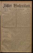 Ischler Wochenblatt 18801003 Seite: 1