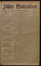 Ischler Wochenblatt 18801024 Seite: 1