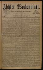 Ischler Wochenblatt 18801205 Seite: 1