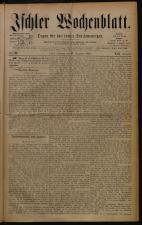 Ischler Wochenblatt 18801219 Seite: 1