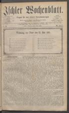 Ischler Wochenblatt 18810508 Seite: 1