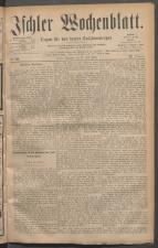 Ischler Wochenblatt 18810717 Seite: 1