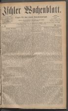 Ischler Wochenblatt 18810814 Seite: 1