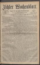 Ischler Wochenblatt 18810918 Seite: 1