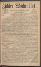 Ischler Wochenblatt 18811106 Seite: 1