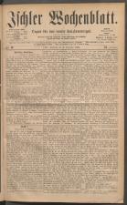 Ischler Wochenblatt 18811204 Seite: 1