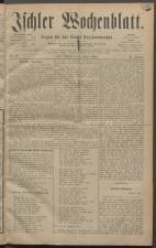 Ischler Wochenblatt 18820108 Seite: 1