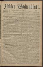 Ischler Wochenblatt 18820219 Seite: 1