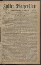 Ischler Wochenblatt 18820625 Seite: 1