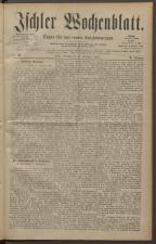 Ischler Wochenblatt 18821112 Seite: 1