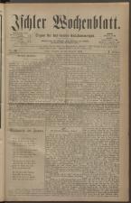 Ischler Wochenblatt 18821210 Seite: 1