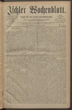 Ischler Wochenblatt 18830106 Seite: 1