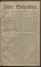 Ischler Wochenblatt 18830325 Seite: 1