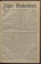 Ischler Wochenblatt 18830527 Seite: 1