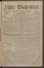 Ischler Wochenblatt 18831118 Seite: 1