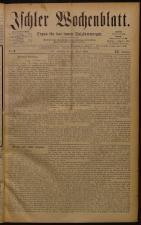 Ischler Wochenblatt 18840113 Seite: 1
