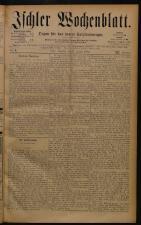 Ischler Wochenblatt 18840127 Seite: 1