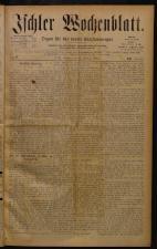 Ischler Wochenblatt 18840210 Seite: 1