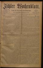 Ischler Wochenblatt 18840224 Seite: 1