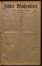 Ischler Wochenblatt 18840309 Seite: 1