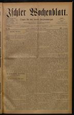 Ischler Wochenblatt 18840413 Seite: 1
