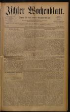 Ischler Wochenblatt 18840427 Seite: 1