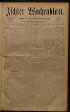 Ischler Wochenblatt 18840608 Seite: 1