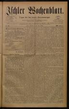 Ischler Wochenblatt 18840706 Seite: 1