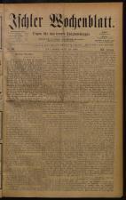 Ischler Wochenblatt 18840713 Seite: 1