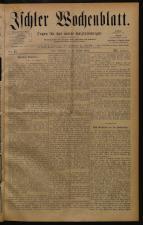 Ischler Wochenblatt 18840831 Seite: 1