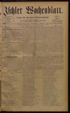 Ischler Wochenblatt 18840928 Seite: 1