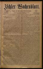 Ischler Wochenblatt 18841012 Seite: 1