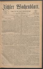 Ischler Wochenblatt 18850111 Seite: 1