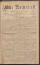 Ischler Wochenblatt 18850614 Seite: 1