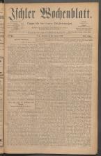 Ischler Wochenblatt 18860124 Seite: 1