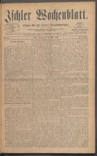 Ischler Wochenblatt 18860314 Seite: 1