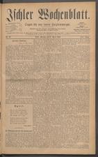 Ischler Wochenblatt 18860411 Seite: 1