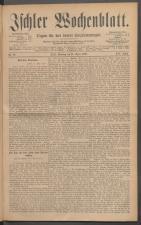 Ischler Wochenblatt 18860418 Seite: 1