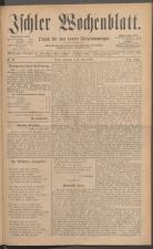 Ischler Wochenblatt 18860704 Seite: 1