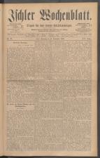 Ischler Wochenblatt 18861114 Seite: 1
