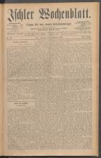 Ischler Wochenblatt 18861205 Seite: 1