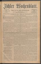 Ischler Wochenblatt 18861219 Seite: 1