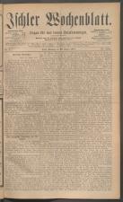 Ischler Wochenblatt 18870123 Seite: 1