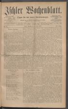 Ischler Wochenblatt 18870612 Seite: 1
