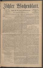 Ischler Wochenblatt 18870724 Seite: 1