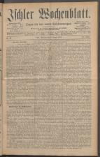 Ischler Wochenblatt 18870814 Seite: 1