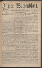 Ischler Wochenblatt 18871127 Seite: 1