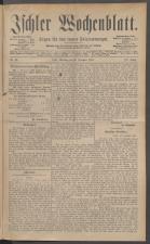 Ischler Wochenblatt 18871225 Seite: 1