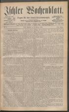 Ischler Wochenblatt 18880219 Seite: 1